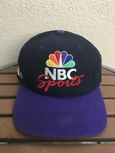 Vintage 90s Sports Specialties NBC Sports TV Logo Snapback Cap