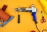 Rug tufting machine 110v, cut pile