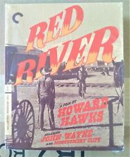 Red River, OOP 4-Disc Dual Format Criterion Coll. No. 709 with paperback book