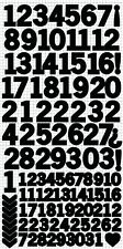 Kaisercraft K Style - Number Stickers - Black XL Sheet
