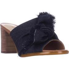 Nine West Solid Block Heel Sandals & Flip Flops for Women