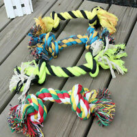 1Pcs Pet Chew Knot Toy Cotton Braided Bone Rope Color Price Dog Low Puppy W2O3