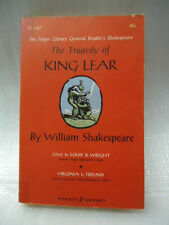 PL-57 The Tragedy of King Lear by William Shakespeare 1957 Pocket Library Book