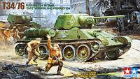 "Tamiya 35149 Russian T34/76 Tank ""ChTZ"" Version, 1943 Production 1/35 scale kit"