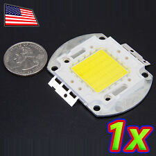 [1x] 50W Huge Bright Clear White Light LED 6500K High Power 4500LM 36V Lamp