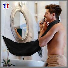 Tablier de rasage Bavoir à barbe Cape de barbier avec ventouse 120 x70 cm