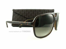 New Gucci Sunglasses GG 1091/s Matte Havana Men's Aviator DWJHA Authentic