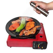 Oil Sprayer Stainless Steel Bottle Kitchen Gadget Cooking Spray Dispenser Tool R
