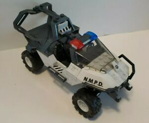 Halo Mega Bloks/Construx NMPD Warthog Police Buggy Vehicle