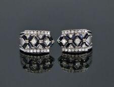 Orecchini con diamanti g zaffiro