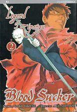 Blood Sucker: Legend of Zipangu n. 2 di Saki Okuse ed.Jpop * NUOVO! * Sconto 50%