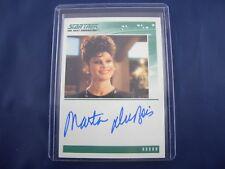 Star Trek TNG Quotable Autograph Card Marta DuBois as Ardra