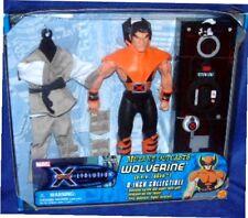 "Marvel X-Men Evolutions 8"" WOLVERINE Logan New Factory Sealed 2001"