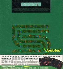 SS501 Destination [CD+36P+5 Cards] New Sealed Kim Hyung-jun Kyu-jong Hyun-joong