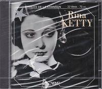 CD 22 TITRES RINA KETTY BEST OF 1993 LES ETOILES DE LA CHANSON NEUF SCELLE
