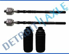Brand New 2 Inner Tie Rod End + Rack and Pinion Boots for Subaru Impreza 2002-04