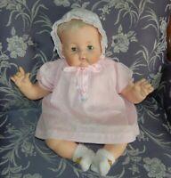 "Vintage Madame Alexander Kitten Baby Doll 1961 Clean 22"" Body New Crier Orig Box"
