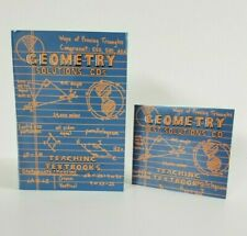 Teaching Textbooks Geometry 1.0 Version Solution & Test Solutions 7 CDs Set Used