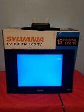 "15"" Sylvania Flat LCD 720p HDTV"