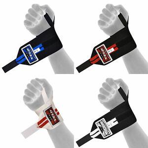 VELO Wrist Wraps Support Weight Lifting Hand Bar Straps Training Grip Bandage