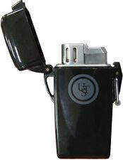 UST STORMPROOF FLOATING Butane LIGHTER Waterproof Windproof Survival Gear Black