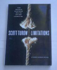 Limitations, by Scott Turow