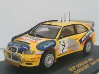 1/43 SEAT CORDOBA WRC AURIOL SAFARI 2000 RALLYE IXO RALLY CAR ESCALA DIECAST