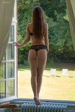 Gisele 8229 Fine Art Nude Model Photo, hand-signed print by Craig Morey
