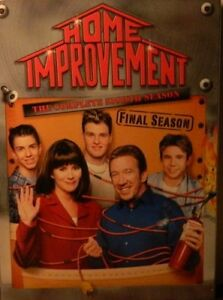 HOME IMPROVEMENT The COMPLETE EIGHTH SEASON 28 Episodes + Bonus Features SEALED