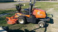 Used Kubota Out Mower - F2690E Kubota with 26 HP Diesel - 60 IN Deck