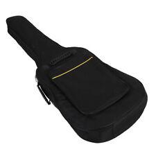 """Elegant and Portable 39"""" Guitar Bag Case With Sponge Black Dual Adjustable"""