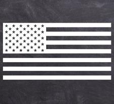 American Flag Sticker Car Decal Vinyl Multiple Colors & Sizes Jeep Truck Laptop