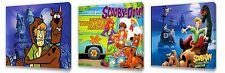 Scooby Doo II set of Three Wall / Plaques canvas pictures