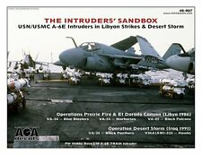 AOA decals 1/48 USN / USMC A-6E Intruders in Libya & Desert Storm