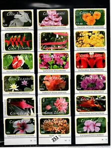# COOK ISLANDS - MNH - NATURE - PLANTS - FLORA - FLOWERS