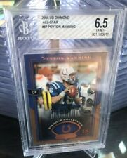 New listing 2004 UD Diamond Collection All-Star #67 Peyton Manning Colts graded BGS 6.5 EX-M