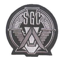 "SGC Stargate team uniform Logo embroidered Badge Patch 4"" 10x10 cm 4"""