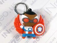 Marvel Blind bag 3-D Figural Key Chain: Secret Wars Falcon America
