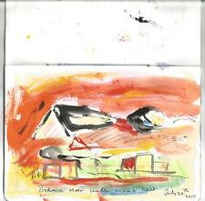 "2017 ""Bodmin Moor sous summer heat"" par Bill Payne G Sutherland influences"