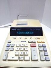 Sharp El-2630P 12 Digit 2 Color Ribbon Printer Corded Office Calculator