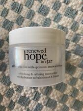 Philosophy renewed hope in a jar refreshing & refining moisturizer 1 oz unboxed