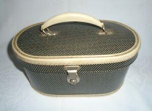Vintage/Retro Mid Century Vanity Case / Travelling Luggage Bag / Trinket Storage