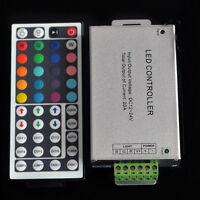 DC 12V/24V 20A 240W 44Key IR Remote Controller For RGB 5050 3528 Led Strip Light