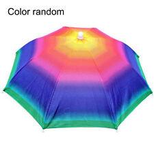 Umbrella Hat Sun Shade Camping Fishing Hiking Outdoor Foldable Headwear BLBD