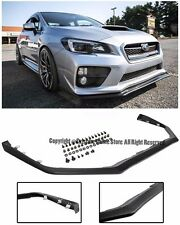 For 15-Up Subaru Impreza WRX STi V-LIMITED JDM STYLE Front Bumper Lower Lip Kit
