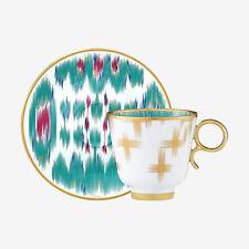 Hermes Voyage en Ikat Coffee Cup and Saucer