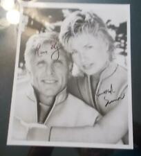 Ron Ely / Kimber Sissons Hand Signed Photo ( Sea Hunt )