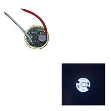 One Mode 3V-18V Flashlight Driver Circuit Board +1pcs 16MM Cree XM-L T6 LED Chip