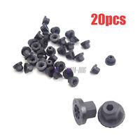 20X Plastic Body Nut Flange Clip Retainer Fastener 16131176747 For BMW Benz