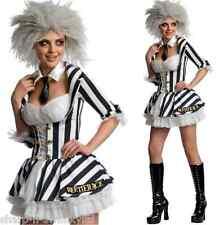 Smiffys Charlatan Debout Sortie Rayé Beetlejuice Costume Adulte Halloween 43536
